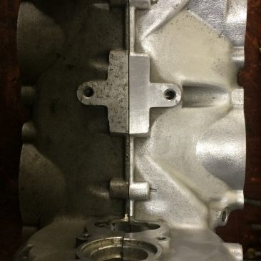 ROTAX 912 CRANK CASE CLEANING