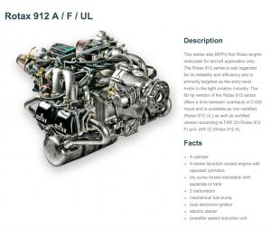 Rotax 912A/F/UL