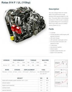 Rotax 914 F / UL (115hp)