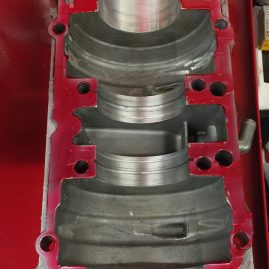 Loctite flange sealant applied