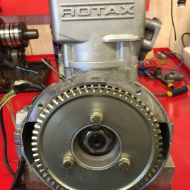 Hydro-damper & plated starter gear fitted