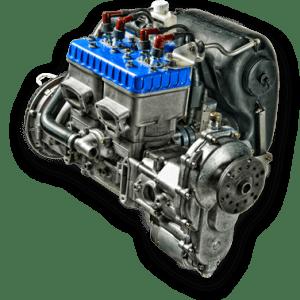 Rotax 582 Mod. 99 (65hp)